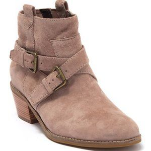 Cole Haan Jensynn Booties Suede Ankle Boots 7 NEW